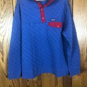 Patagonia Jackets & Coats - Patagonia Organic Cotton Quilt Snap-T® Pullover